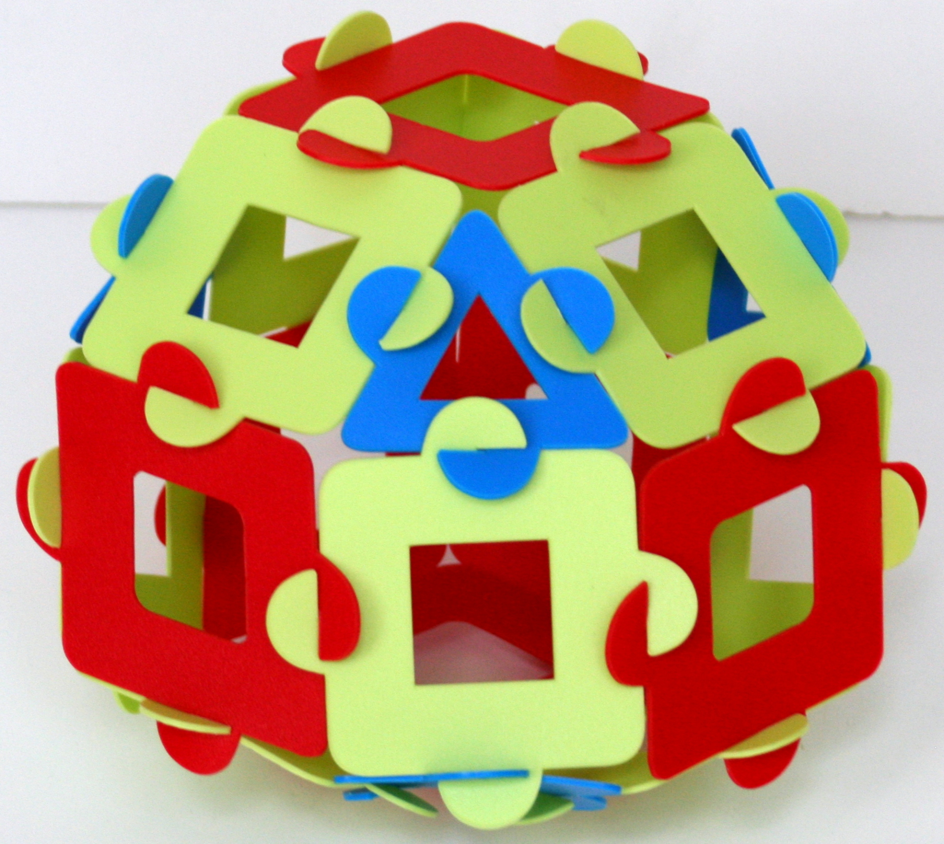Twice reduced expanded rhombic dodecahedron